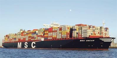 D troit la course au gigantisme continue l 39 economiste - Le plus gros porte conteneur de chez maersk ...