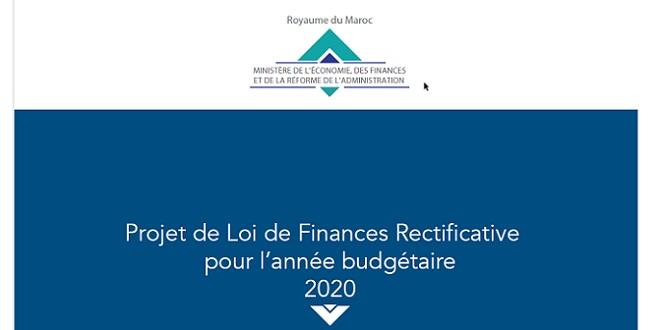 Loi de finances rectificative pour 2020: Le document