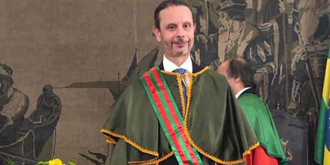 Le délégué de l'ONMT décoré au Brésil