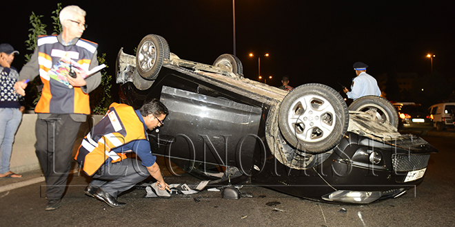 Accidents de la circulation: 19 morts en 6 jours