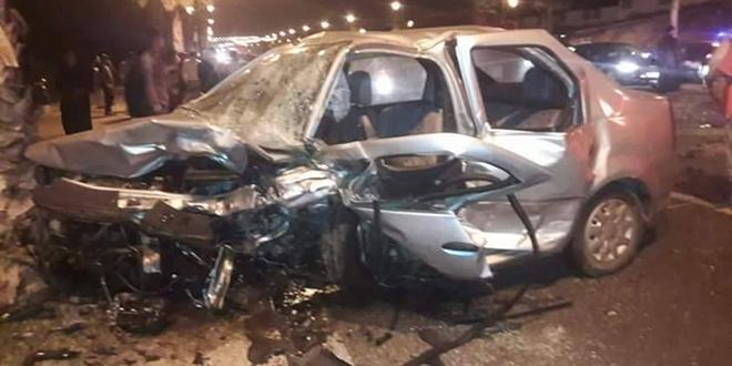 Accident mortel sur la route Rabat-Harhoura