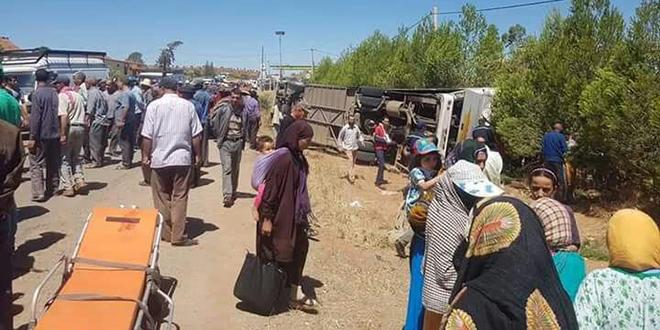 Nouvelle hécatombe routière à Khénifra
