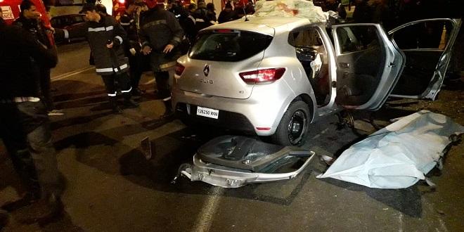 Casablanca : Un véhicule léger percute un bus, deux morts