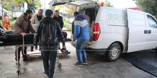 Casablanca recycle ses corbillards en ambulances !