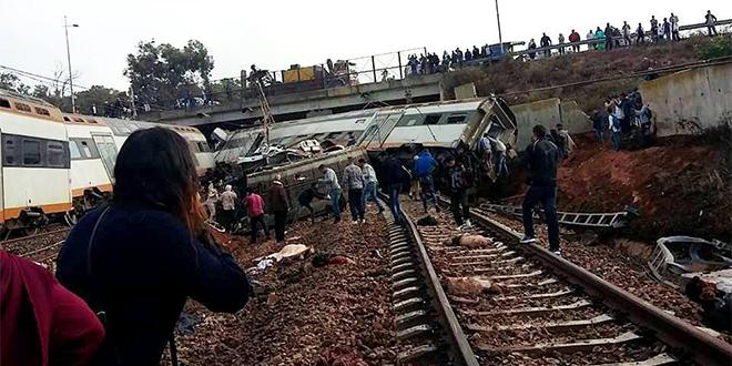 VIDEO/ Grave accident de train à Bouknadel