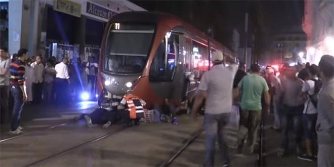 Casablanca : Un mort dans un nouvel accident du tramway