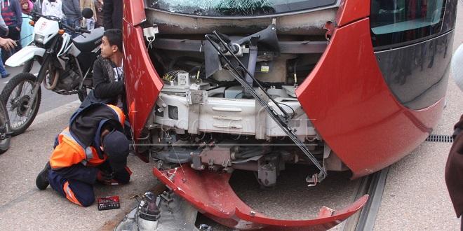 Tramway de Casablanca: Grave accident avec un motocycliste