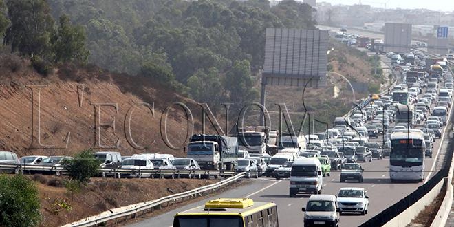 ADM: Suspension provisoire de la circulation entre Rabat et Sala Al Jadida