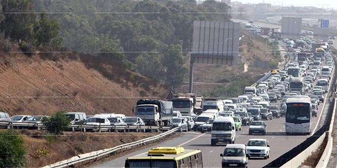 ADM élargit l'autoroute de contournement de Casablanca