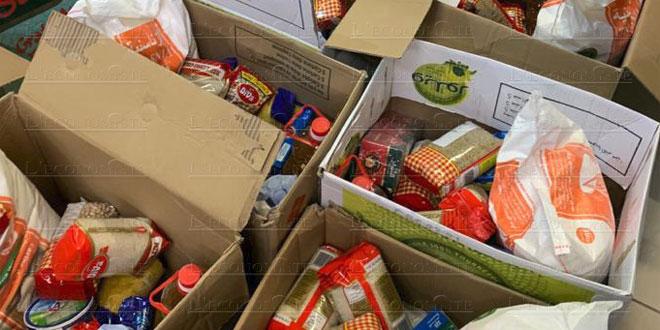 Covid19: Plus de 10 millions de DH d'aides alimentaires distribuées