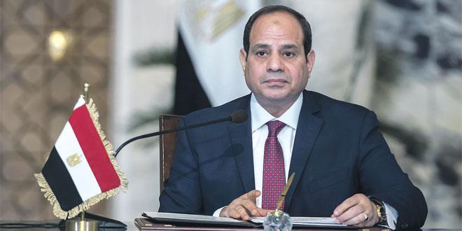 """Al-Sissi : La situation """"n'est pas préoccupante"""""""