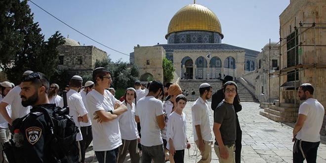 La Mosquée Al Aqsa envahie