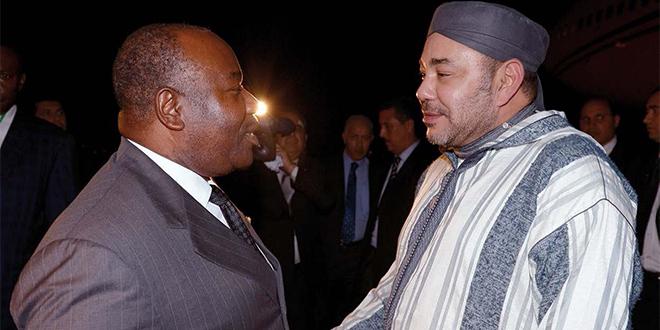 Le Roi rend visite à Ali Bongo