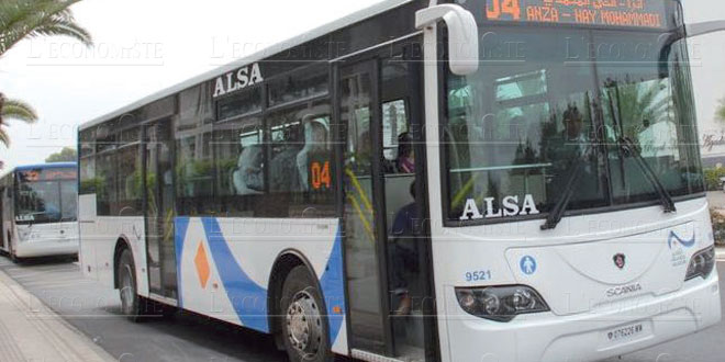 Casablanca : Les bus d'occasion 100% européens