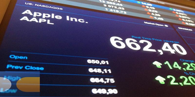 Bourse : Un record pour Apple