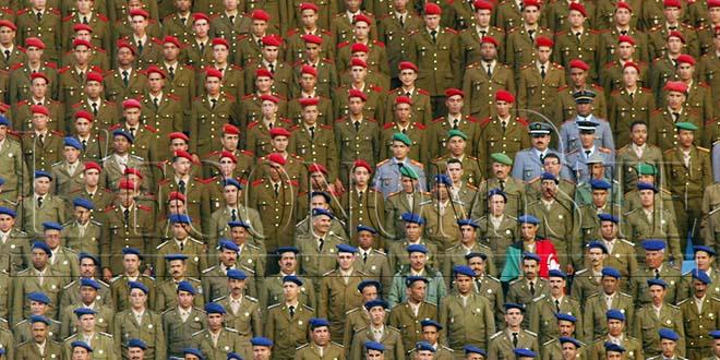 Où se situe l'armée marocaine ?