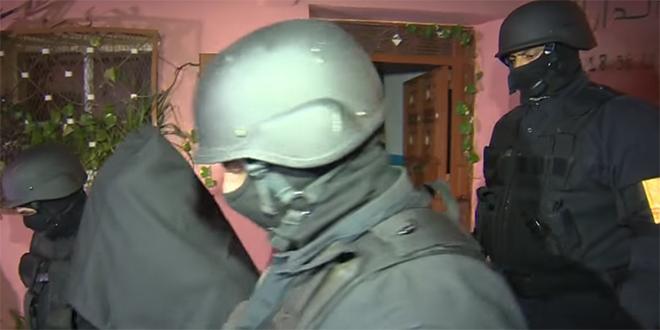 Lutte anti-terroriste : 8 arrestations du BCIJ