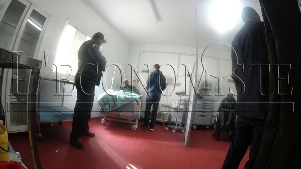 """Le """"Dealer"""" a aussi été transporté aux urgences après avoir reçu deux balles au niveau des deux jambes"""