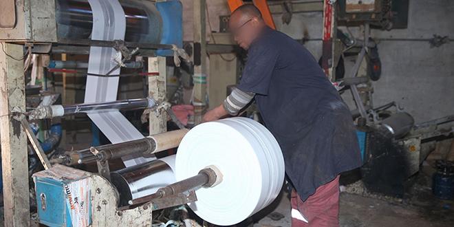 Nouaceur : Démantèlement d'un atelier de fabrication des sacs en plastique