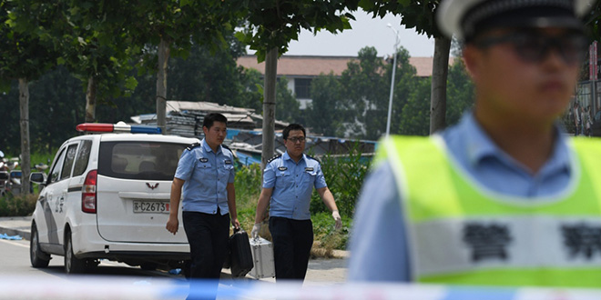 Chine: 14 écoliers blessés dans une attaque au couteau