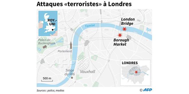 Attaques de Londres: 10 morts, dont 3 assaillants, 48 blessés (nouveau bilan)