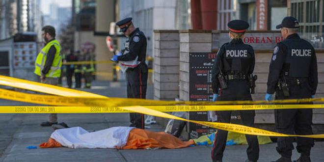 Toronto : Plusieurs morts dans l'attaque à la voiture bélier