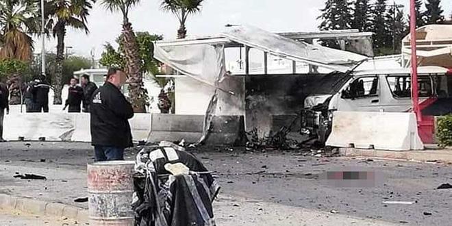 Attentat suicide aux alentours de l'ambassade américaine à Tunis