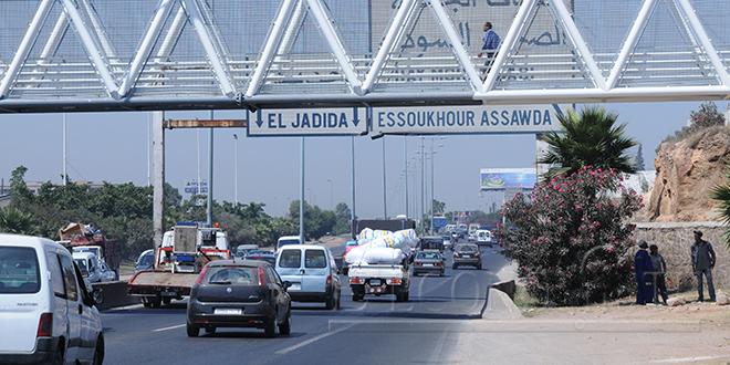 Autoroute Casa-El Jadida : Le trafic suspendu