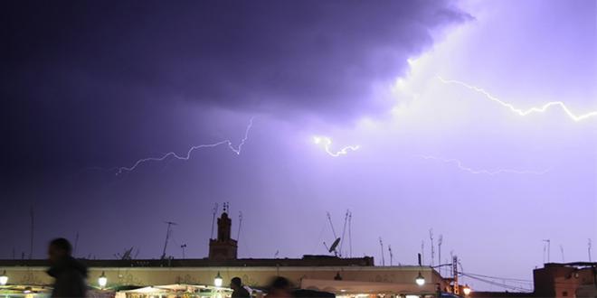 Alerte météo: Averses orageuses dans plusieurs provinces