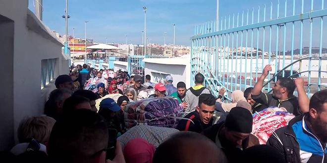 Bab Sebta : Encore une bousculade mortelle