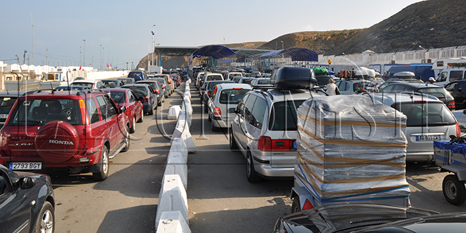 Bab Sebta: Saisie d'environ 26 millions de dirhams en devises