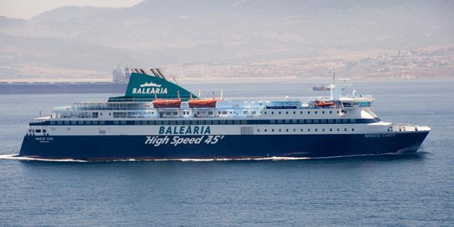 Balearia lance une nouvelle ligne vers Nador