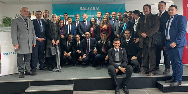 Maritime: Baleària présente son projet de formation au Maroc