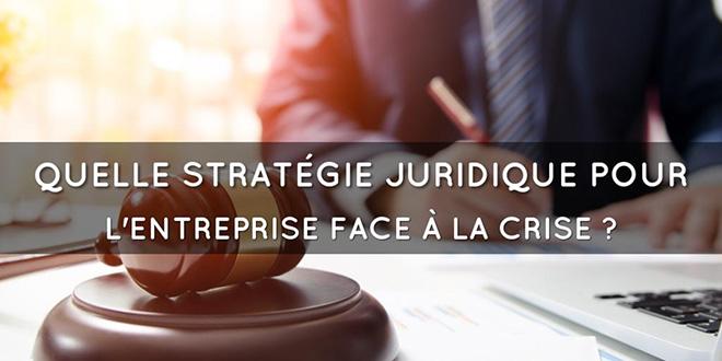Entreprise: L'APD se penche sur la stratégie juridique face à la crise