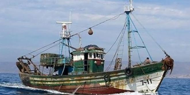 Sebta : Naufrage d'un bateau de pêche marocain