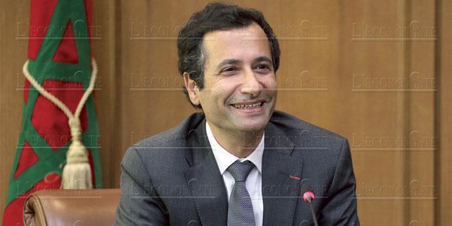 Benchaaboun s'entretient avec le ministre d'État britannique au Commerce international