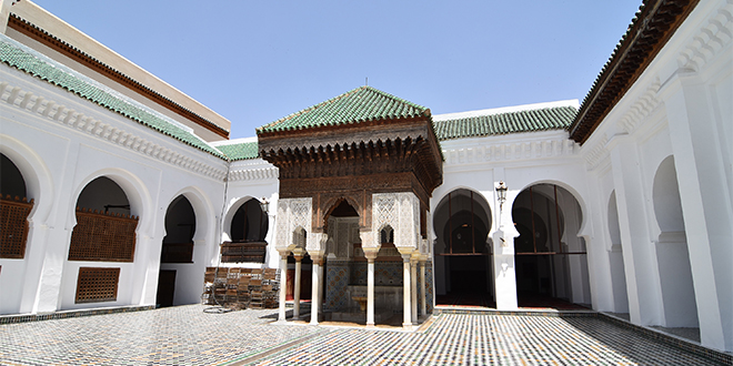 Fès : Le Roi inaugure la bibliothèque Al Quaraouiyine