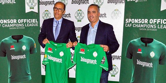 Biougnach , le nouveau sponsor du Raja