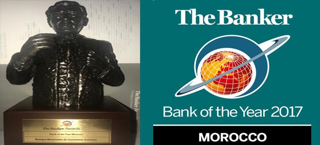 BMCE BoA encore primée par The Banker