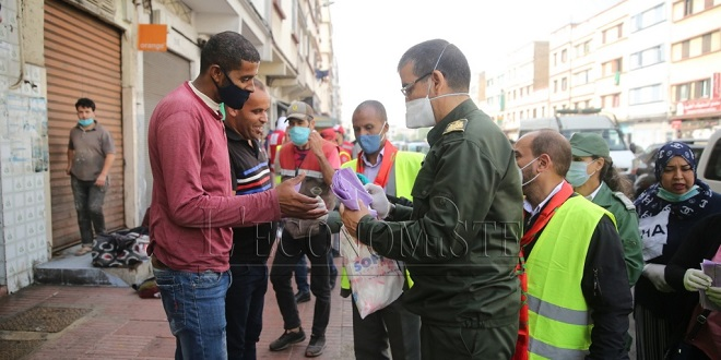 Diapo/ Casablanca: Grande campagne de sensibilisation contre le Covid19