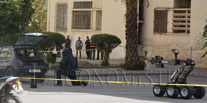 DIAPO - Voici l'arsenal découvert dans la planque des terroristes à Fès
