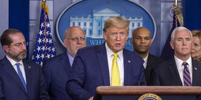 Coronavirus: Les bourses plongent après les annonces de Trump