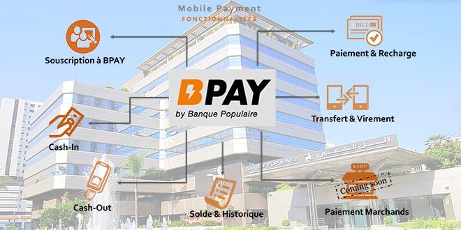 Paiement mobile : BCP déploie BPAY