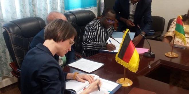 Près de 40 millions € de l'Allemagne pour le Burkina