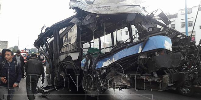 Un bus renverse plusieurs piétons à Casablanca — Accident