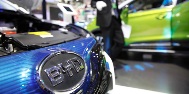 Automobile : BYD sur les starting blocks