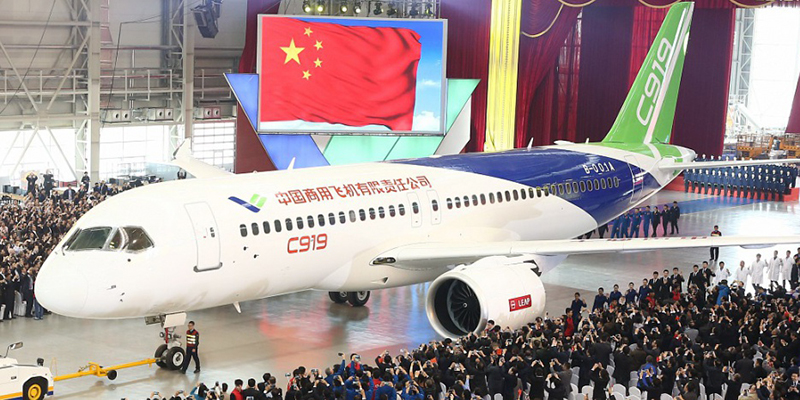 Un avion « made in China » !