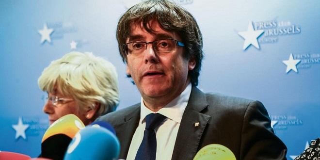 Belgique : Puigdemont s'est livré à la police