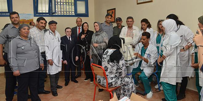 Une caravane médicale pour les détenus d'Oujda