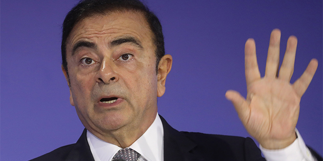 Nissan : Carlos Ghosn s'exprime